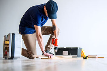 Jims Engineered Floor Installation